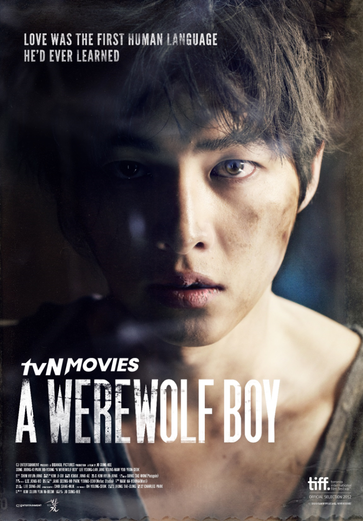 A Werewolf Boy, starring Song Joong-ki and Park Bo-young